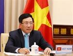 Phó Thủ tướng Bộ trưởng Ngoại giao Phạm Bình Minh tham dự Phiên thảo luận mở Cấp cao trực tuyến của HĐBA LHQ