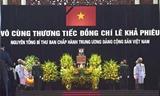 ពិធីគោរពវិញ្ញាណក្ខ័ន្ធអតីតអគ្គលេខាបក្ស លោក Le Kha Phieu