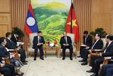 Thủ tướng Nguyễn Xuân Phúc tiếp Thủ tướng Chính phủ Lào Thongloun Sisoulith