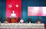Thủ tướng làm việc với các địa phương Đồng bằng sông Cửu Long nhằm thúc đẩy tăng trưởng kinh tế cho vùng