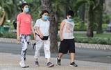Город Хошимин штрафует людей за то что они не носят маски для лица с 5 августа
