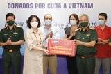 Việt Nam tiếp nhận thuốc phòng chống dịch do Cuba tài trợ
