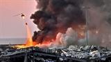 Телеграмма со словами соболезнования в связи со взрывами в Бейруте