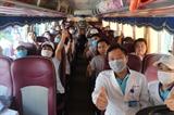 Đoàn bác sỹ nhân viên y tế của Bình Định tình nguyện lên đường hỗ trợ Đà Nẵng chống dịch