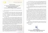 Tổng Bí thư Chủ tịch nước Nguyễn Phú Trọng: TTXVN tiếp tục khẳng định vai trò là cơ quan thông tin chính thống tin cậy của Đảng Nhà nước