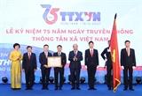 Thủ tướng Nguyễn Xuân Phúc: TTXVN cần tiếp tục giữ vững vị thế là một trung tâm thông tin tin cậy của Đảng Nhà nước