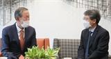 허창수 전경련 회장-주한베트남 신임대사 경제협력 논의