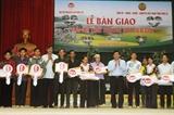 Trao 107 Mái ấm tình thương nơi biên giới cho hộ nghèo huyện Sốp Cộp