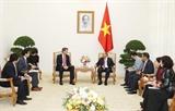Thủ tướng Nguyễn Xuân Phúc tiếp Bộ trưởng Ngoại giao Hàn Quốc; Giám đốc Quốc gia ADB tại Việt Nam