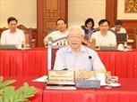 Политбюро провело рабочую встречу с Постоянным комитетом Парткома Ханоя