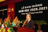 ວິທະຍາຄານປ້ອງກັນຊາດຈັດພິທີເປີດສົກຮຽນໃໝ່ 2020 – 2021
