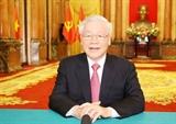 Thông điệp của Tổng Bí thư Chủ tịch nước Nguyễn Phú Trọng gửi tới Phiên thảo luận chung Cấp cao của Đại hội đồng Liên hợp quốc Khóa 75