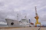 한국 정부 베트남 항해대학교에 훈련선 기증