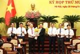Đồng chí Chu Ngọc Anh được bầu làm Chủ tịch UBND thành phố Hà Nội