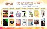 Công bố 7 hạng mục Giải Sách hay năm 2020