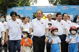 Вице-премьер призвал больше детей использовать шлемы