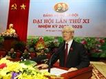 Tổng Bí thư Chủ tịch nước Nguyễn Phú Trọng: Xây dựng Đảng bộ Quân đội thật sự mẫu mực thật sự trong sạch vững mạnh
