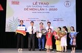 Giải thưởng thiếu nhi Dế Mèn mùa đầu tiên: Nhà văn Nguyễn Nhật Ánh được vinh danh là Hiệp sĩ Dế Mèn