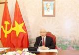 Высшие руководители Вьетнама и Китая провели телефонный разговор для активизации плодотворного сотрудничества