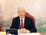 Vietnam-Chine : conversation téléphonique entre Nguyen Phu Trong et Xi Jinping