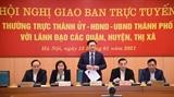 Hà Nội thực hiện 9 nhóm nhiệm vụ và giải pháp trọng tâm phát triển kinh tế - xã hội năm 2021