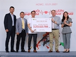 Plus de 3 milliards de dongs mobilisés lors de la course Run for the Heart