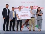 Plus de 3 milliards de dongs mobilisés lors de la course Run for the Heart