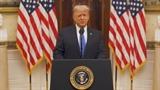 ສານຂອງທ່ານປະທານາທິບໍດີ ອາເມລິກາ Donald Trump ກ່ອນອອກຈາກທຳນຽບຂາວ