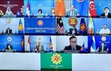 아세안 베트남 동해와 지역의 평화와 안정에 기여하기 위한 연대와 헌신유지