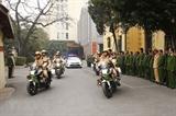 Милиция Ханоя приступила к работе по обеспечению безопасности XIII всевьетнамского съезда КПВ