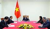 Thủ tướng Chính phủ Nguyễn Xuân Phúc điện đàm với Thủ tướng Australia Scott Morrison