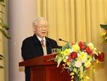 Tổng Bí thư Chủ tịch nước Nguyễn Phú Trọng: Văn phòng Chủ tịch nước nâng cao chất lượng toàn diện các mặt công tác