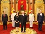 Президент Вьетнама принял верительные грамоты новых послов Испании Ирана и Филиппин