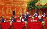 Sesiona tercera jornada del XIII Congreso Nacional del Partido Comunista de Vietnam