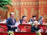 Съезд обсуждает проекты документов о партийном строительстве и национальном развитии