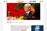 Đại hội XIII của Đảng: Truyền thông quốc tế nêu bật triển vọng phát triển kinh tế của Việt Nam