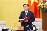 Inauguran cuarta reunión del Comité Permanente del Parlamento vietnamita