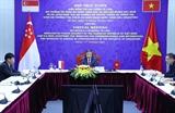 Việt Nam - Singapore đẩy mạnh hợp tác trong lĩnh vực an ninh mạng