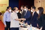 Chủ tịch nước Nguyễn Xuân Phúc gặp mặt Hội Doanh nghiệp trẻ Việt Nam