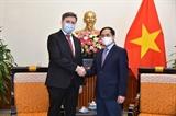 Министр иностранных дел Буй Тхань Шон принял посла Республики Польша во Вьетнаме