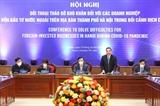 하노이시 기업과의 대화 마련