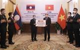 Le Vietnam offre 25 millions de dollars et des fournitures médicales au Laos