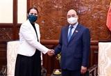 Le président Nguyen Xuan Phuc reçoit lambassadeur de Nouvelle-Zélande