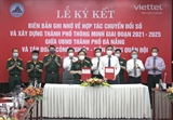 Đà Nẵng hợp tác với Viettel trong lĩnh vực chuyển đổi số