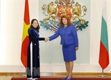 국가 부주석 불가리아 공식 방문