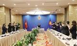 Sommet dAsie de lEst : le PM reçoit les ambassadeurs chargés daffaires de plusieurs pays
