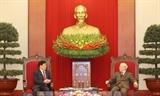Máximo dirigente político pide fortalecer cooperación en seguridad con China