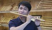 阮文卯做竹笛的创业之路
