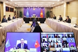 Thủ tướng Nguyễn Xuân Phúc dự phiên Thảo luận mở Cấp cao trực tuyến của Hội đồng Bảo an Liên hợp quốc