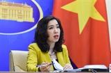 베트남 외교부 대변인 세계무역기구의 중심역할 제고를 지지